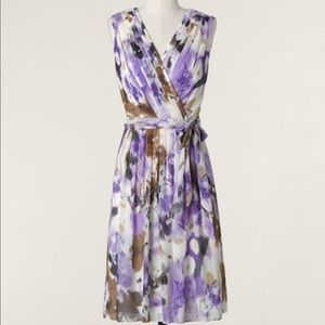 NWT Coldwater Creek Drifting Violets Dress 18W